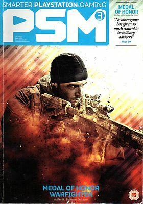 PSM3 Playstation Gaming Magazine April 2012 MEDAL OF HONOUR WARFIGHTER