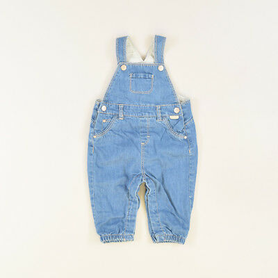 Peto color Denim oscuro marca Zara 6 Meses