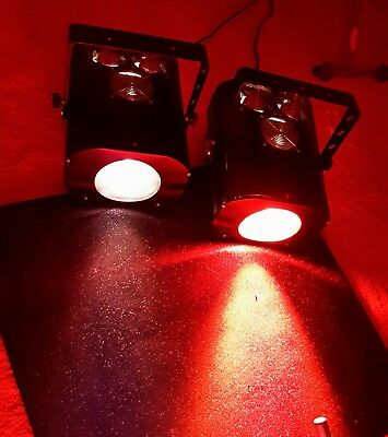"""Pair of Dortron DMX Controlled """"Colors 1200"""" Fresnel Stage Lights"""
