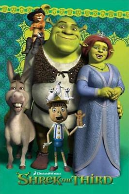 Shrek the Third : Cast - Maxi Poster 61cm x 91.5cm new and sealed