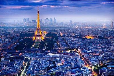 View Over Paris - Maxi Poster 91.5cm x 61cm new and sealed