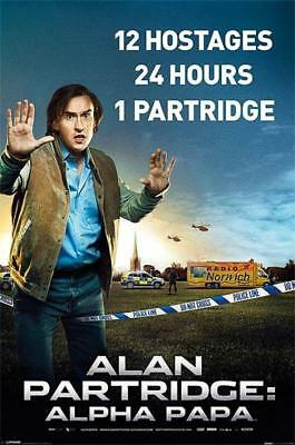 Alan Partridge : Alpha Papa - Maxi Poster 61cm x 91.5cm new and sealed