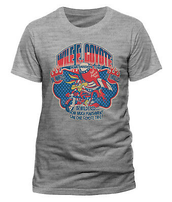 Looney Tunes WIle E. Coyote 'Daredevil' T-Shirt - NEW & OFFICIAL!