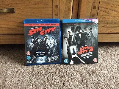 Sin City And Sin City 2 A Dame To Kill For On Blu Ray Excellent Condition