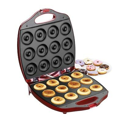 Donut Maker Machine Kit Kids Cheap Electric Cake Snack Mini Sweet Best 12 Hole