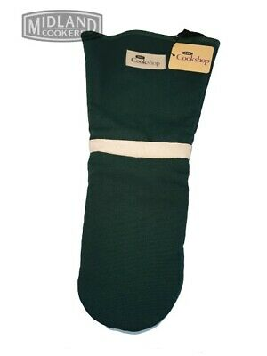Genuine AGA New Single Green  Oven Gauntlet / Oven Glove