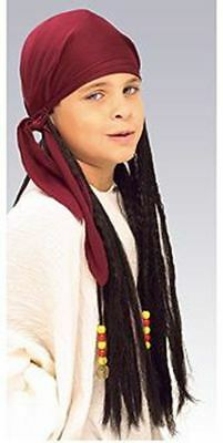 Pirate Bandana With Dreadlocks Child