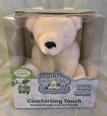 New! Cloud B Polar Cuddle Cub Natural Comforting Touch Help Child Sleep Sheep Co