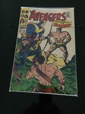 Avengers 40 inexcellent condition, cent issue,CGC Worthy