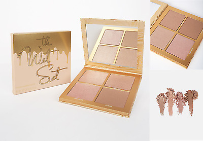 Kylie Jenner The Wet Set - 4 Pressed Illuminating Powder Highlighters