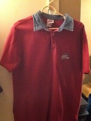Planet Hollywood VIntage Polo Shirt Original ---1991 Vguc