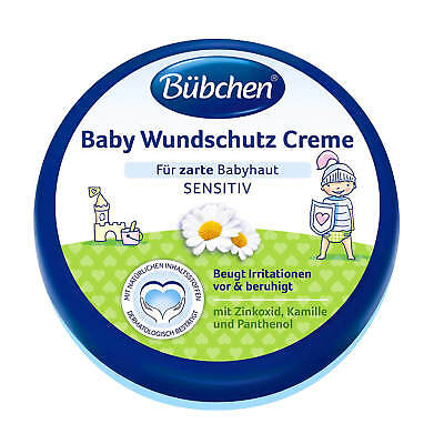 32,93 150ml Bübchen Baby Wound Protection Cream with Sunflower Oil and Chamomile