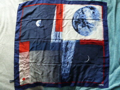 Superbe Foulard Air France Concorde En Soie Annees 80