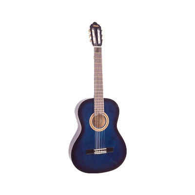 Valencia 1/4 Size Nylon Guitar - Blue Burst