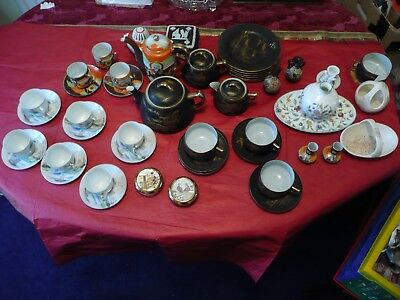 Oriental Pottery/porcelain And Other Interesting Items. Check These Out.