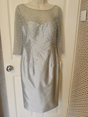 Mother Of The Bride Irresistible Platinum Size 10 New Greatly Reduced