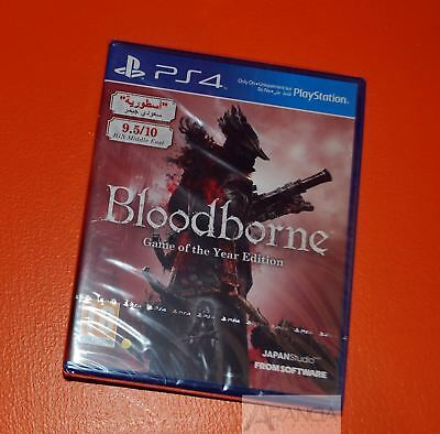 Bloodborne Game of the Year GOTY PS4 New and Sealed