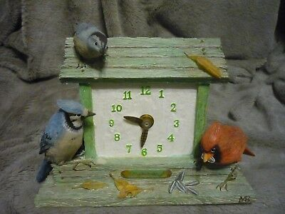 Marjolein Bostin Nature's Sketchbook by Hallmark, Bird Clock