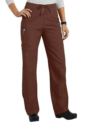 Cherokee Workwear Scrubs Unisex Drawstring Pants  4100 NWT | 6 Colors XS-5XL
