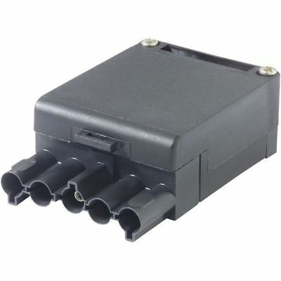 2x Wieland and Adels Contact ST18 3P male female connectors
