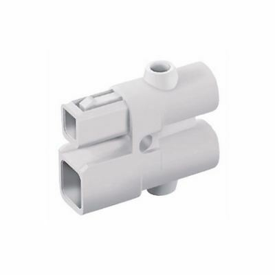 Wieland 93.016.0053.0 Compact Mini-Connector Cross section 2.5 mm² 2P White