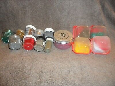 Selection Of Embossing Powders
