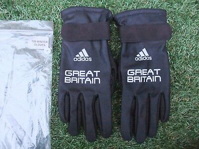 New ~ Adidas Great Britain Team Gb Cycling Winter Full Finger Gloves ~ Small