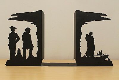 Innovative Fabricators Lewis and Clark and Sacajawea Bookends