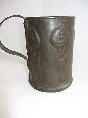 Antique Arts and Crafts drinking Tankard