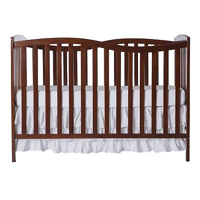 Dream On Me Chelsea 5-in-1 Convertible Crib Expresso