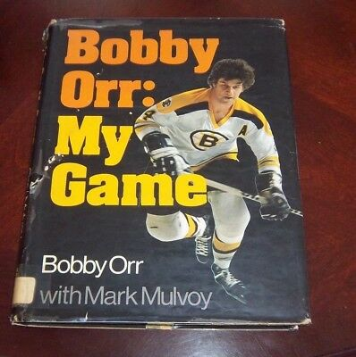 Bobby Orr My Game  Bobby Orr with Mark Mulvoy 1974 Sports Illustrated Book