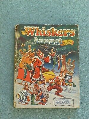The Whiskers Annual for Boys and Girls. English.Collectable. Hardback.
