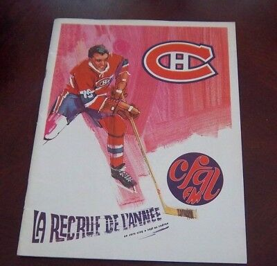 Montreal Canadians  Game program 1967-68