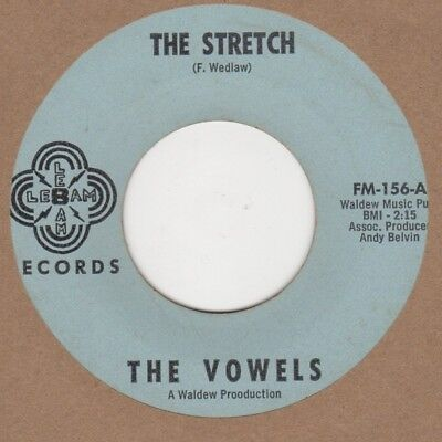 Vowels The Stretch Lebam Soul Northern Motown