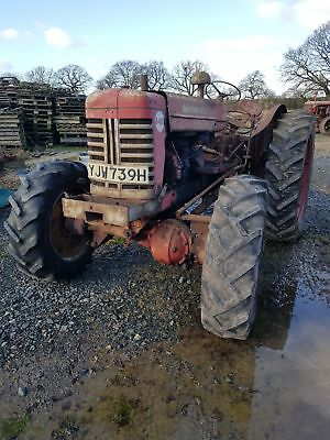 International B 450 Roadless Tractor