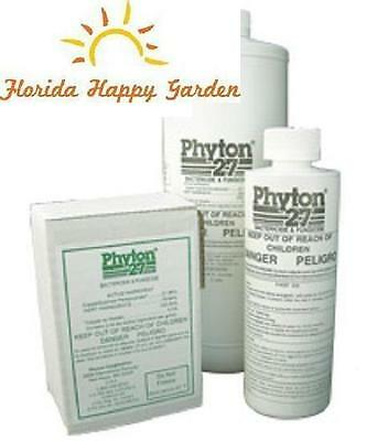 PHYTON 27 BACTERICIDE & FUNGICIDE 8oz. Bottle.