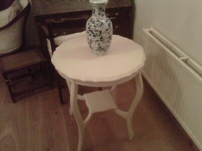 Painted Edwardian table in mahogany C1900