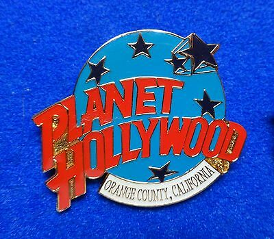 New Orange County California Planet Hollywood Blue Planet w Stars Logo PH Pin z3