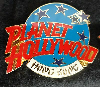 Hong Kong China Planet Hollywood Restaurant Blue Planet w/ Stars Logo PH Pin z3