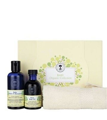 Neal's Yard Organic Baby Collection baby shower gift shampoo balm baby oil