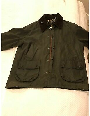 Barbour Bedale Waxed Cotton Jacket: Men's Size 42