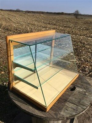 Kollman Countertop Display Case Cabinet Prophylactic Tooth Brush Country Store