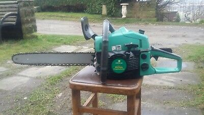 Chainsaw Petrol used excellent condition, byEinhell, uk badged as Gardenline