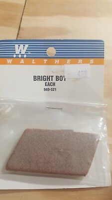 Walthers Bright Boy Abrasive Track Cleaner for HO, N and Z Item #949-521 New