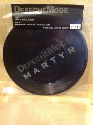 Depeche Mode Martyr still sealed picture disc limited edition #03912