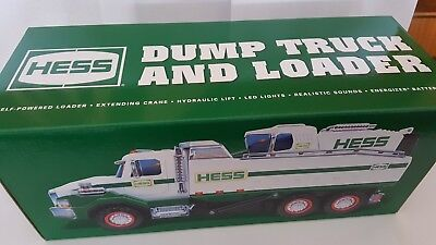 Hess Truck 2017  Dump Truck And Loader  Box..never  Removed From Box..