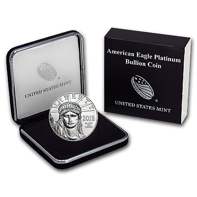 2018 1 oz Platinum American Eagle BU (w/U.S. Mint Box) - SKU#152919