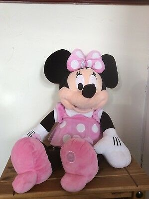 """Extra Large Authentic Disney Store Minnie Mouse Plush Soft Toy 28"""""""