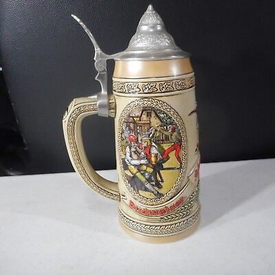 Anheuser Busch-Budweiser M Series 21081 with Limited Edition Beer Stein w/Lid