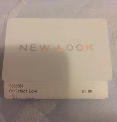 New Look Gift Card £51.98